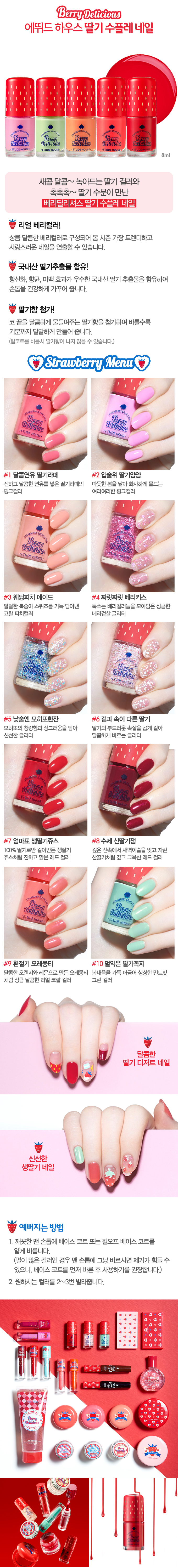 New Release: Etude House — Berry Delicious Collection (Spring 2016 ...